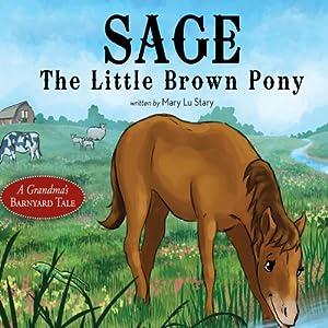 Sage, the Little Brown Pony: A Grandma's Barnyard Tale | [Mary Lu Stary]