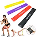 Morecoo 4-Piece Resistance Loop Bands Set