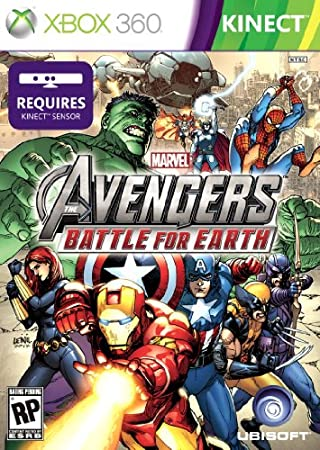 Marvel Avengers Battle for Earth - Trilingual