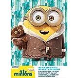 Minions Adventskalender mit Milchschokolade