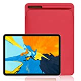 Accessory for Ipad Pro!!!Kacowpper Leather Sleeve Case Cover Pouch Skin for Apple Pencil 2nd & iPad Pro 12.9inch 2018,Christmas Hot Sale!!! (Color: Red, Tamaño: 12.9 Inch)