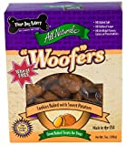 Three Dog Bakery Sweet Potato Woofer Cookies, Baked Dog Treats, 13-Ounce