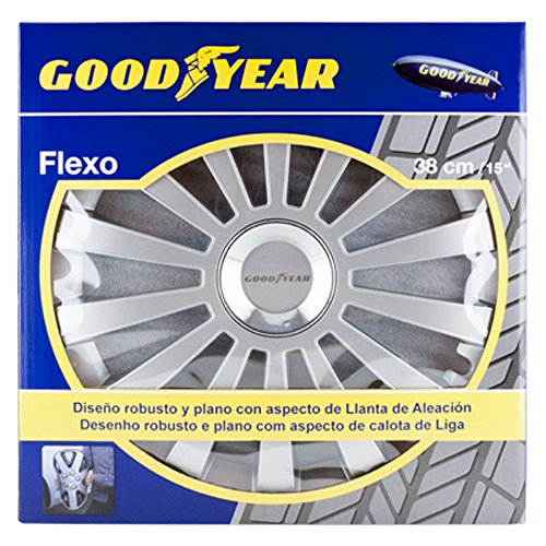 Good-Year-GOD9030-Copricerchi-Goodyear-15-Pollici-Modello-Flexo-30-Colore-Argento