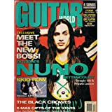 NUNO BETTENCOURT EXTREME GUITAR WORLD DECEMBER 1992 BLACK CROWES SKID ROW!