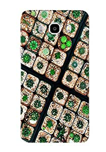Omnam Pattern Made Of Jems Printed Designer Back Cover Case For Samsung Galaxy J7 (2016)