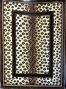 Amazon Com Animal Skin Print Leopard Area Rug Berber