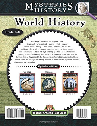 Mysteries in History: World History: Grades 5-8