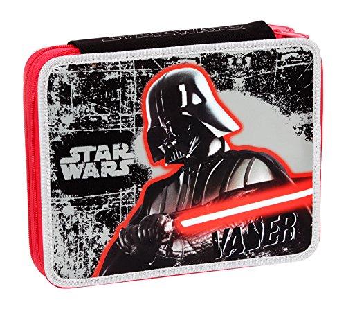 Giochi Preziosi - Star Wars Astuccio Maxi con Colori, Pennarelli ed Accessori Scuola