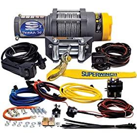 Best Superwinch Terra Reviews - SSuperwinch 1135220 Terra 35 3500lbs/1591kg