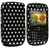 Polka Dot Design Crystal Hard Skin Case Cover for Blackberry Curve 8520 8530 3G 9300 9330