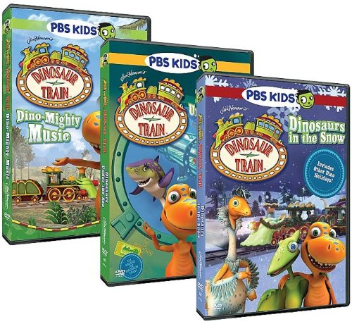 Dinosaur Train: 3-DVD Collection (Dino-Mighty Music/Dinosaurs Under the Sea/Dinosaurs in the Snow)