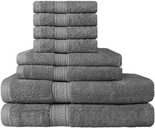 premium-8-piece-towel-set-grey-2-bath-towels-2-hand-towels-4-washcloths-cotton-machine-washable-hote