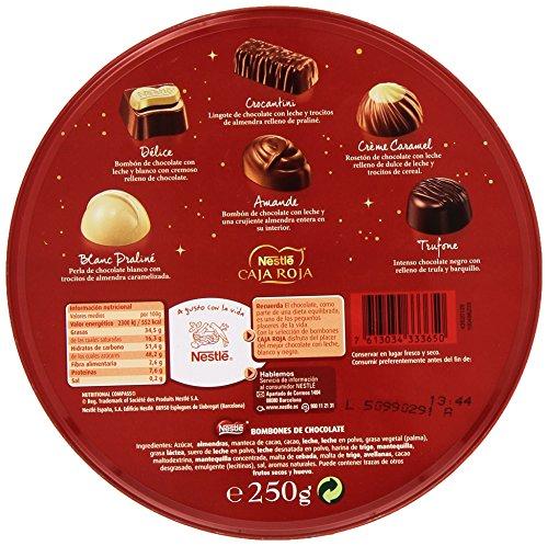 Nestlé  - Caja Roja Bombones - 250 g
