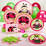 Ladybugs: Oh So Sweet Baby Shower Standard Party Pack for 16