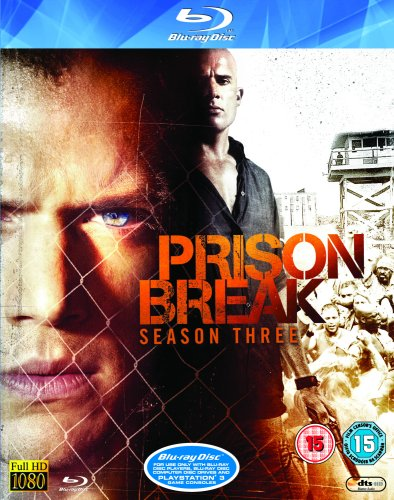 Prison Break S3 Blu-ray [UK Import]