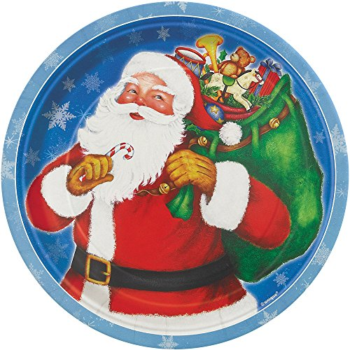 Night Before Christmas Dessert Plates, 8ct