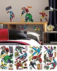 Marvel Comics Classics Wall Decals 18 x40