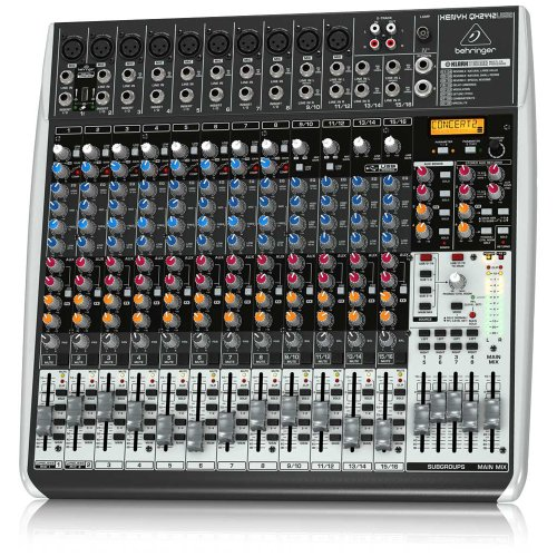 Behringer Qx2442Usb 24-Channel Mixer front-616215