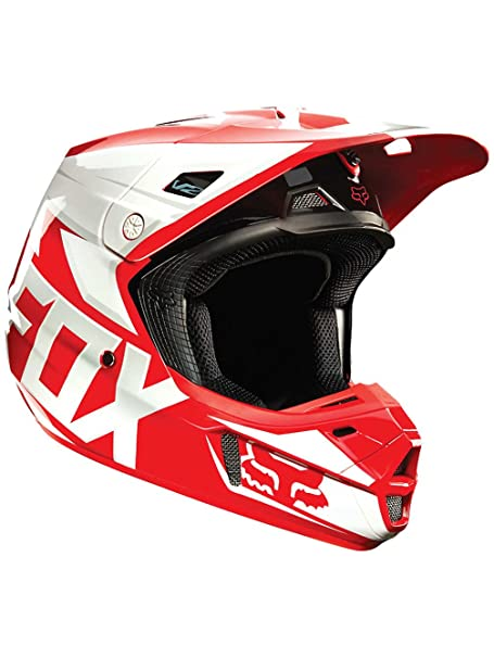 Casque Motocross Fox 2015 V2 Race Rouge