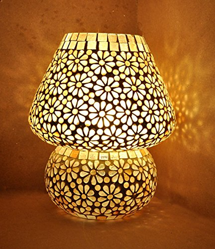 Indian glass table lamp shade vinatge designer bedside table lamp 23 indian glass table lamp shade vinatge designer bedside aloadofball Image collections
