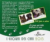 Image de I giorni dei cani. Calendario da tavolo 2015