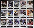 2014 Score Football Baltimore Ravens Team Set In a Protective Case - 15 Cards Including Terrell Suggs (2), Joe Flacco (2), Torrey Smith (2), Ray Rice (2), C.J. Mosley RC, Bernard Pierce, Timmy Jernigan RC, Dennis Pitta, Steve Smith, Marlon Brown, and Mich