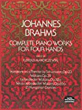Complete Piano Works for Four Hands (Dover Music for Piano)
