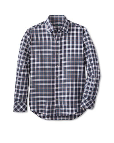 Zachary Prell Men's Brennan Checked Sportshirt