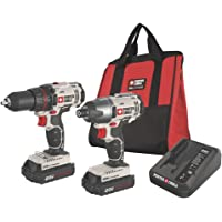 Porter-Cable PCCK604L2 20-Volt Lithium Ion Cordless Combo Kit with Soft Case