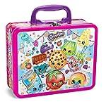 shopkins 100pc puzzle asst lunchbox tin
