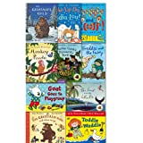 Julia Donaldson New the Julia Donaldson Collection 11 Books Pack, (Night monkey and Day Monkey, the Gruffalo's Child, Monkey Puzzle, Wake up Do Lydia Lou!, The Gruffalo song and other, Freddie and the Fairy, Wriggle and Roar!, Toddle Waddle, Goat Goes to