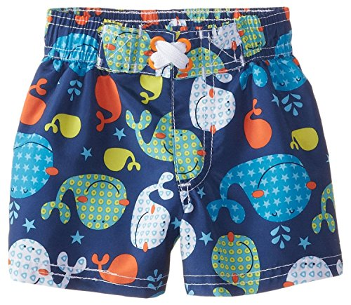 IXtreme Baby Boys' Whale Shorts, Navy, 24 Months