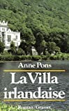 img - for La villa irlandaise: Roman (French Edition) book / textbook / text book
