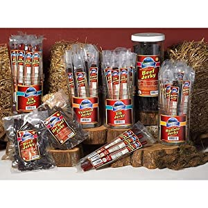 Pacific Mtn Farms Jerky 1 LB Hot Beef by Pacific Mountain Farms
