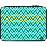 Snoogg Aqua Shades 2576 12 To 12.6 Inch Laptop Netbook Notebook Slipcase Sleeve