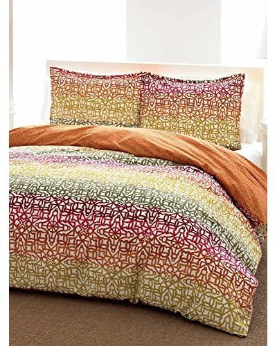 City Scene Fiesta Stripe Comforter/Sham