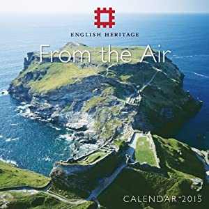 English Heritage From the Air mini wall calendar 2015 (Art calendar) (Flame Tree Publishing)