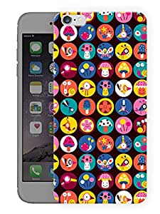 """Humor Gang Cuteness Personified Printed Designer Mobile Back Cover For """"Apple Iphone 6 PLUS - 6S PLUS"""" (3D, Matte, Premium Quality Snap On Case)"""