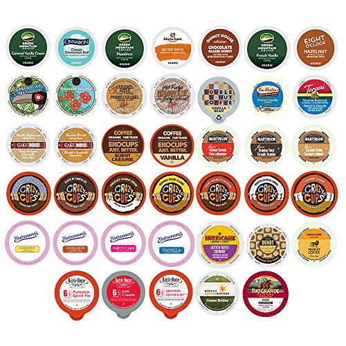 Flavored Coffee Variety Sampler Pack for Keurig K-Cup Brewers, 40 Count (Keurig Coffee K Cups Variety compare prices)