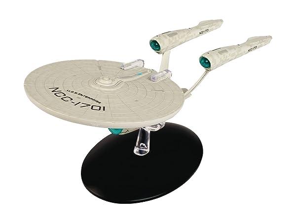 Star Trek USS Enterprise (Star Trek Beyond) Model with Magazine Special #20 by Eaglemoss (Color: Multicolored)