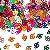 Bunt glitzerndes Konfetti mit Geburtstagszahl: 85 // Tüte mit 15g (ca. 1000 einzelne Konfetti's) // Deko Tischdeko Jubiläum Zahlenkonfetti Metallkonfetti Streukonfetti Geburtstag Birthday