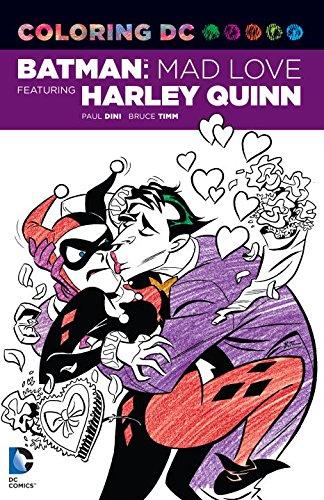 Coloring DC: Harley Quinn in Batman Adventures: Mad Love (Dc Comics Coloring Book) at Gotham City Store