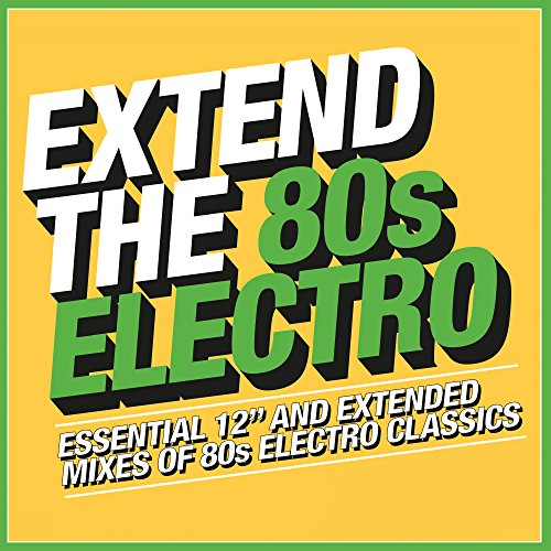CD : VARIOUS ARTISTS - Extend The 80s: Electro (3 Discos)