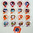 Disney Infinity Series 3 Power Disc Complete Set of 17 (includes rare Wall-E's Fire Extinguisher)