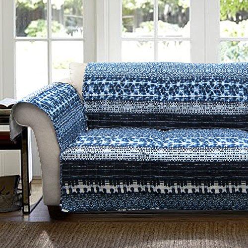 Dying Sofa Covers: Lush Decor Lambert Tie Dye Slipcover/Furniture Protector