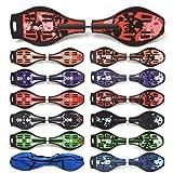 Apollo Waveboard Skateboard in 11 Varianten mit ABEC-7 Lager inkl. Tasche, Länge: 85.5 cm /33.66 inch - Breite: 22.5 cm / 8.86 inch