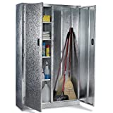 "Relius Solutions Galvanized Combination Cabinet - 44X15x72"" - Gray"
