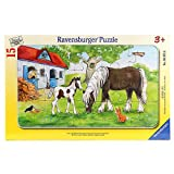 Ravensburger 06375 - Stute und Fohlen