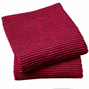 Now Designs Ripple Towel, Carmine, Set of 2 at Sears.com
