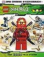 LEGO Ninjago - Das große Stickerbuch - 1000 tolle Sticker Taschenbuch – 1.1.12